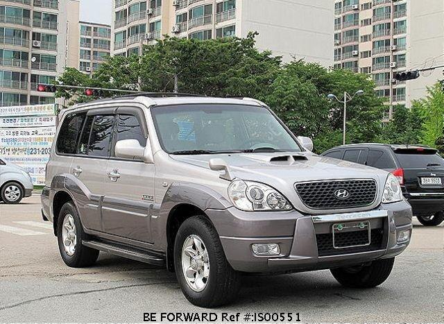 Used 2005 HYUNDAI TERRACAN IS00551 for Sale