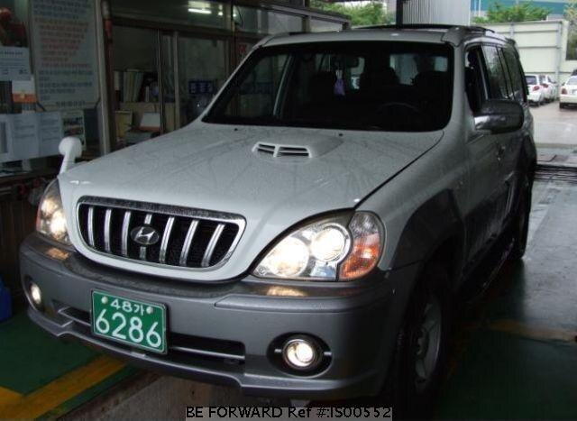 Used 2002 HYUNDAI TERRACAN IS00552 for Sale