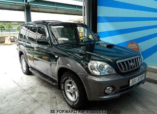 Used 2001 HYUNDAI TERRACAN IS00553 for Sale