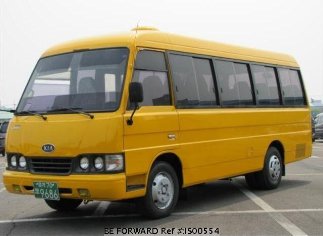 Used 2000 KIA COMBI BUS IS00554 for Sale