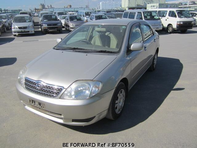 Used 2002 TOYOTA COROLLA SEDAN BF70559 for Sale