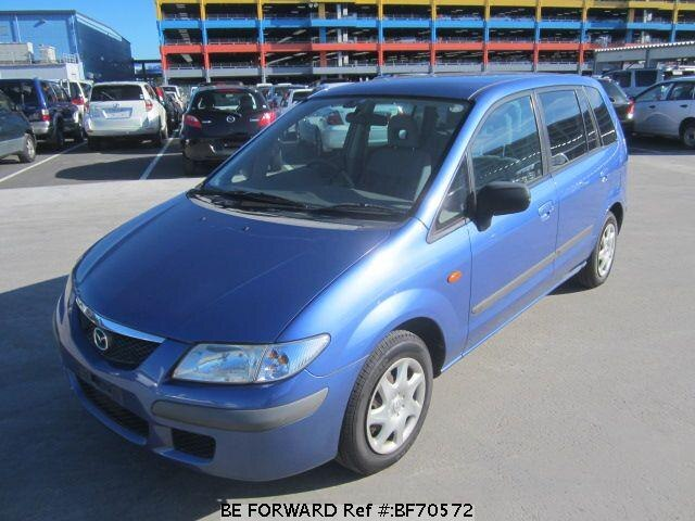 Used 1999 MAZDA PREMACY BF70572 for Sale