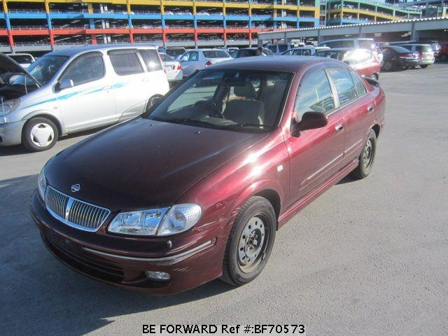 Used 2001 NISSAN BLUEBIRD SYLPHY BF70573 for Sale