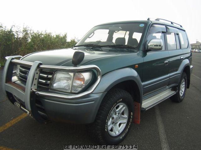 used 1996 toyota land cruiser prado tz e vzj95w for sale. Black Bedroom Furniture Sets. Home Design Ideas