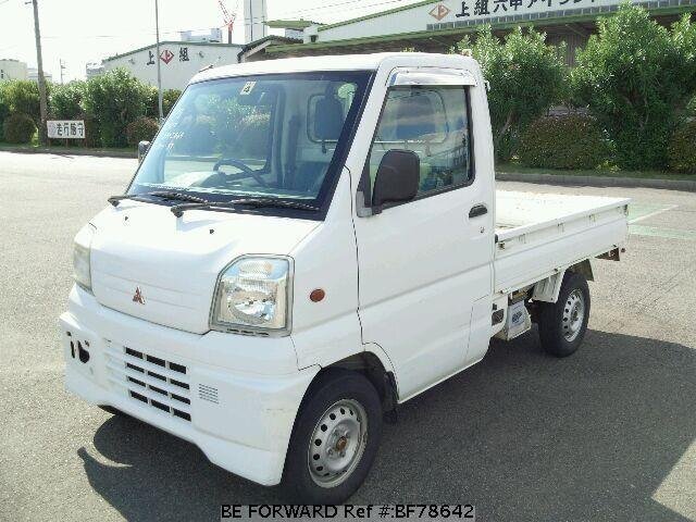 used 1999 mitsubishi minicab truck ts gd u61t for sale bf78642 be forward. Black Bedroom Furniture Sets. Home Design Ideas