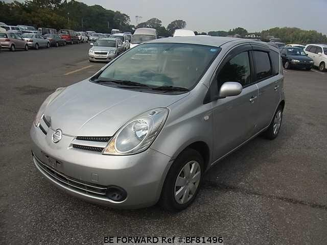 Used 2005 NISSAN NOTE BF81496 for Sale