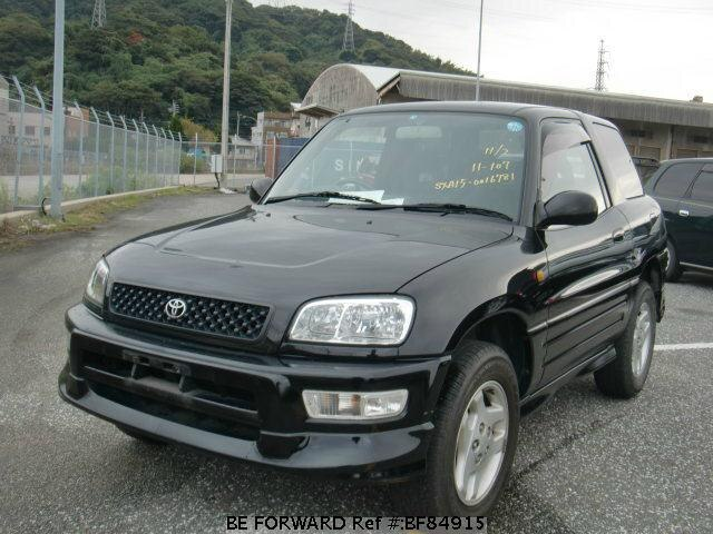 used 1998 toyota rav4 aero sport package gf sxa15g for sale bf84915 be forward. Black Bedroom Furniture Sets. Home Design Ideas
