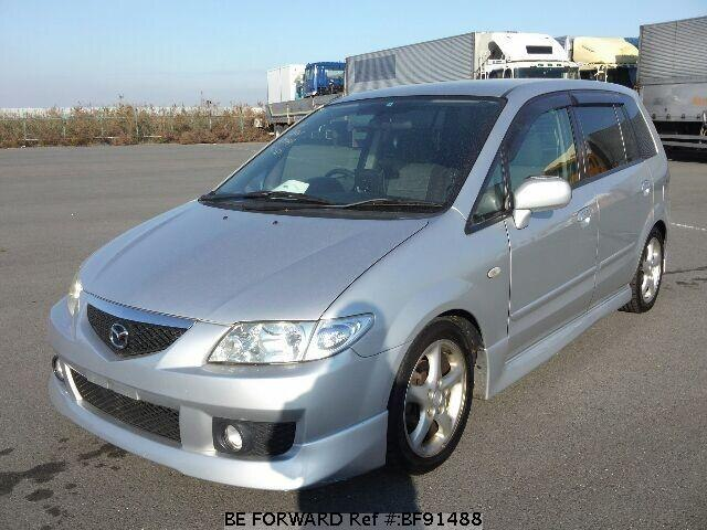 used 2003 mazda premacy ua cp8w for sale bf91488 be forward. Black Bedroom Furniture Sets. Home Design Ideas
