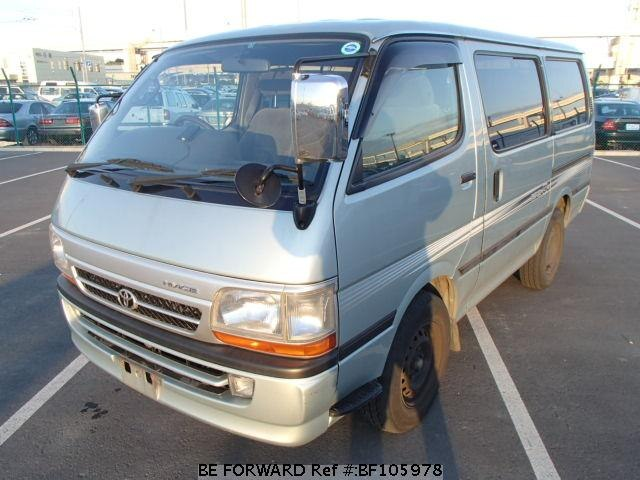 Used 2003 TOYOTA HIACE VAN BF105978 for Sale