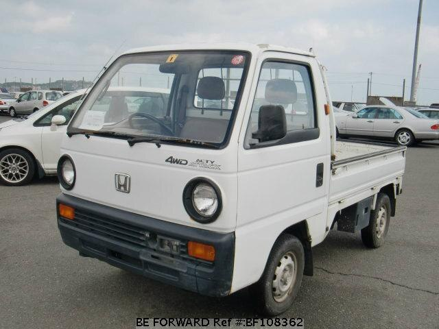 used 1988 honda acty truck m ha2 for sale bf108362 be forward. Black Bedroom Furniture Sets. Home Design Ideas