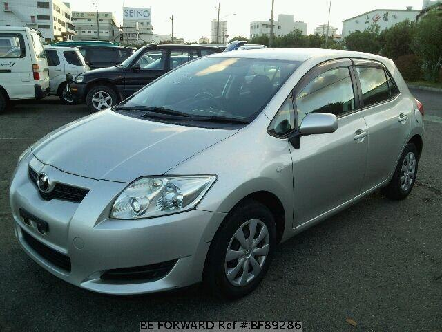 used 2007 toyota auris 150x dba nze151h for sale bf89286 be forward. Black Bedroom Furniture Sets. Home Design Ideas