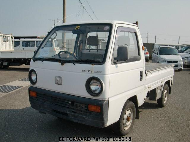used 1989 honda acty truck m ha1 for sale bf108358 be forward. Black Bedroom Furniture Sets. Home Design Ideas
