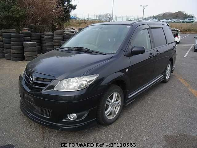 used 2004 mazda mpv la lw3w for sale bf110563 be forward. Black Bedroom Furniture Sets. Home Design Ideas