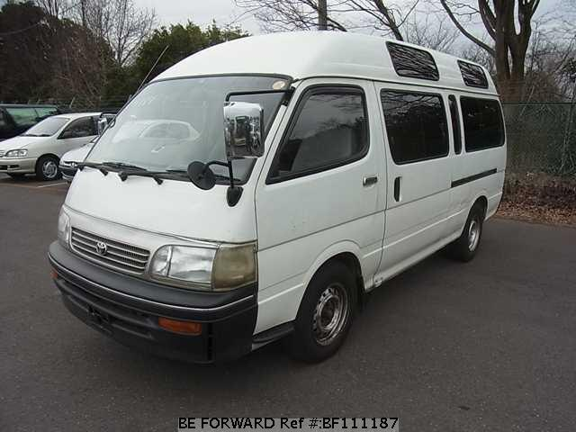 Used 1996 TOYOTA HIACE COMMUTER BF111187 for Sale