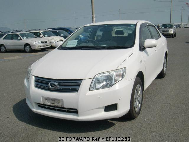 Used 2008 TOYOTA COROLLA AXIO BF112283 for Sale