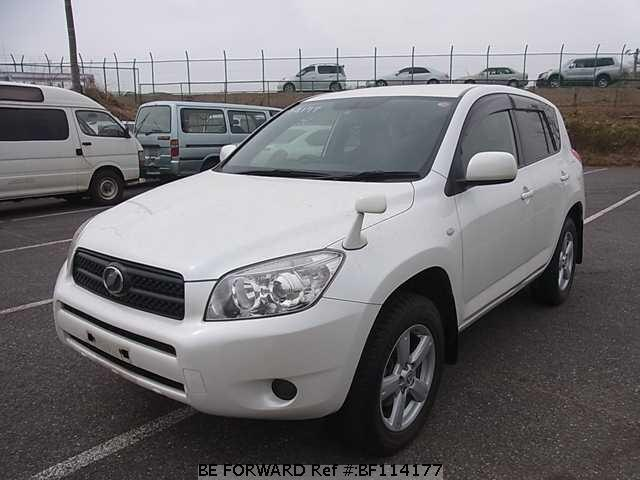 used 2006 toyota rav4 x dba aca31w for sale bf114177 be forward. Black Bedroom Furniture Sets. Home Design Ideas