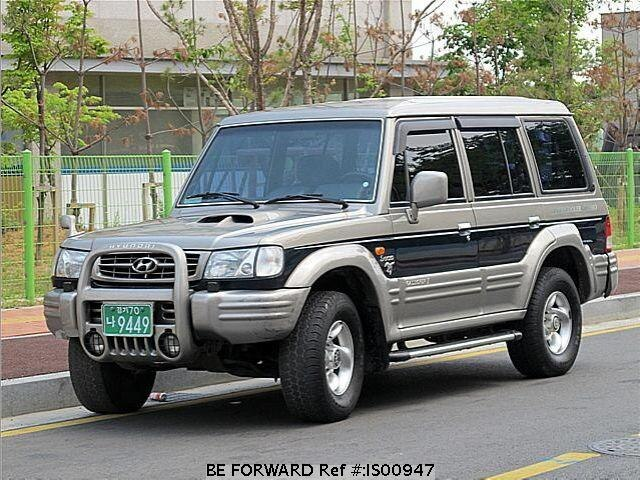 2000 hyundai galloper d 39 occasion en promotion is00947 be forward. Black Bedroom Furniture Sets. Home Design Ideas