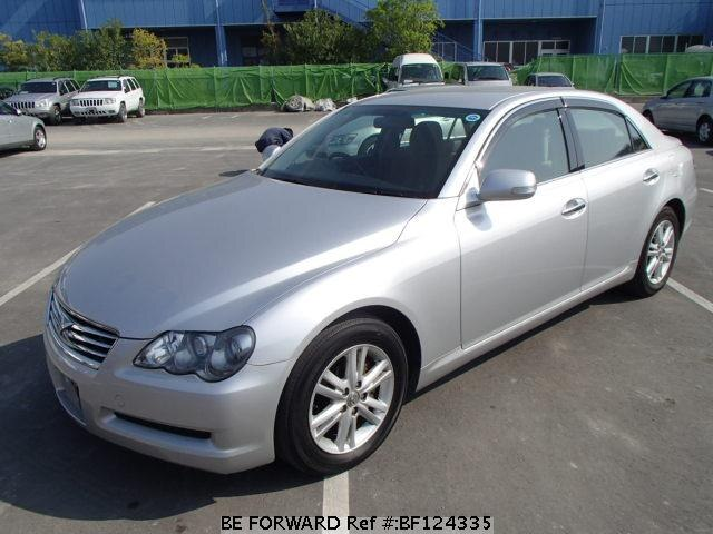 used 2007 toyota mark x 250g package four dba grx125 for. Black Bedroom Furniture Sets. Home Design Ideas