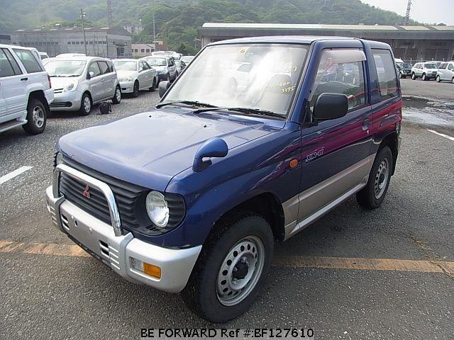 Used 1996 MITSUBISHI PAJERO MINI BF127610 for Sale