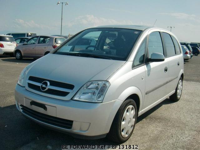 used 2004 opel meriva ta x01z16 for sale bf131812 be forward. Black Bedroom Furniture Sets. Home Design Ideas