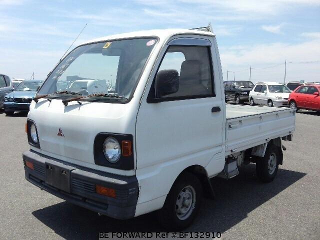 used 1993 mitsubishi minicab truck v u41t for sale bf132910 be forward. Black Bedroom Furniture Sets. Home Design Ideas