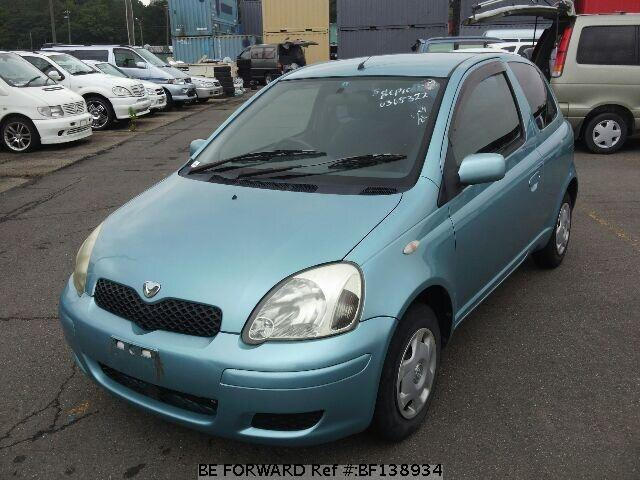 used 2002 toyota vitz 1 0f ua scp10 for sale bf138934 be forward. Black Bedroom Furniture Sets. Home Design Ideas