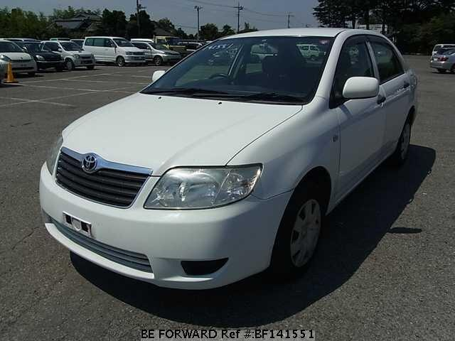 used 2006 toyota corolla sedan x assista package cba nze120 for sale bf141551 be forward. Black Bedroom Furniture Sets. Home Design Ideas