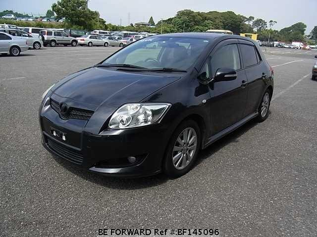 used 2007 toyota auris 180g s package dba zre154h for sale bf145096 be forward. Black Bedroom Furniture Sets. Home Design Ideas