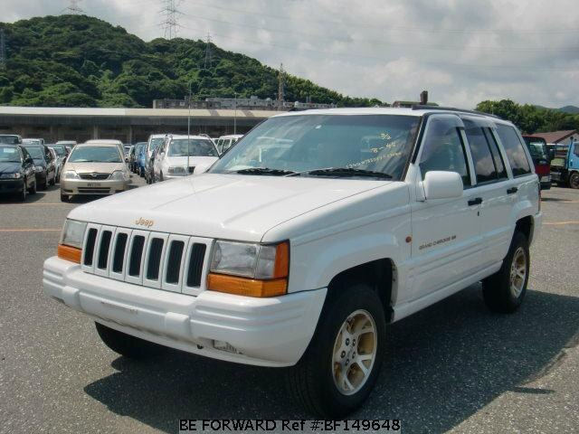 used 1998 jeep grand cherokee limited e zg40 for sale bf149648 be forward. Black Bedroom Furniture Sets. Home Design Ideas