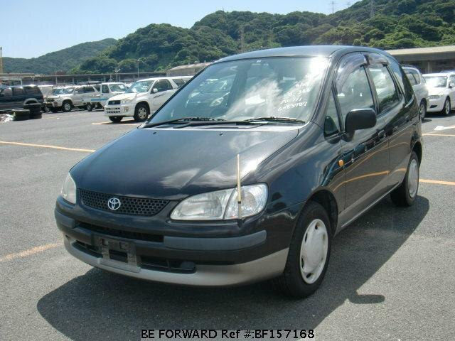 Used 1998 TOYOTA COROLLA SPACIO BF157168 for Sale