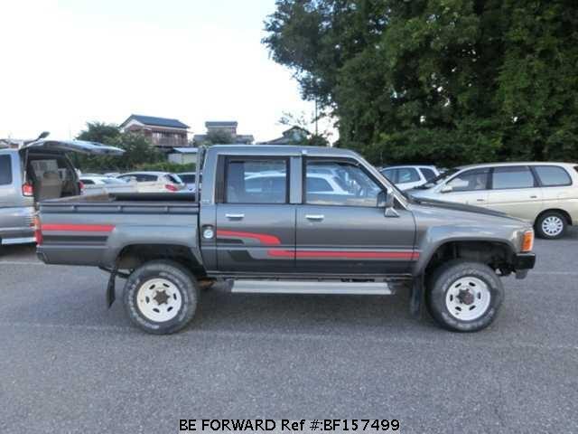 1987 Toyota Hilux W Cab Sr N Ln65 D Occasion En Promotion