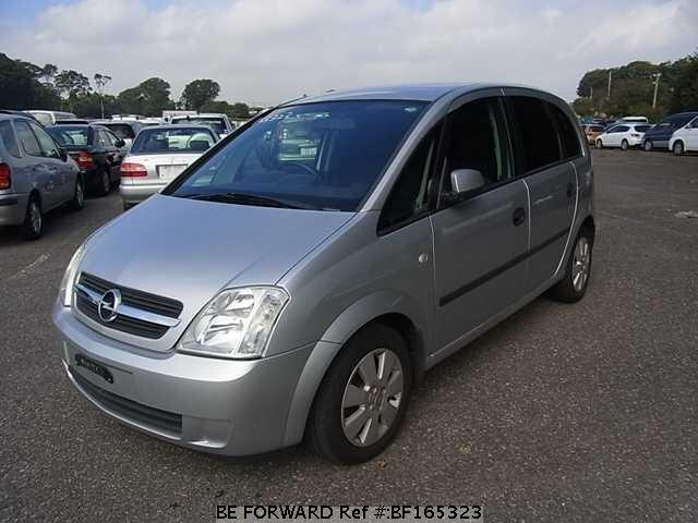 used 2004 opel meriva ta x01z16 for sale bf165323 be forward. Black Bedroom Furniture Sets. Home Design Ideas