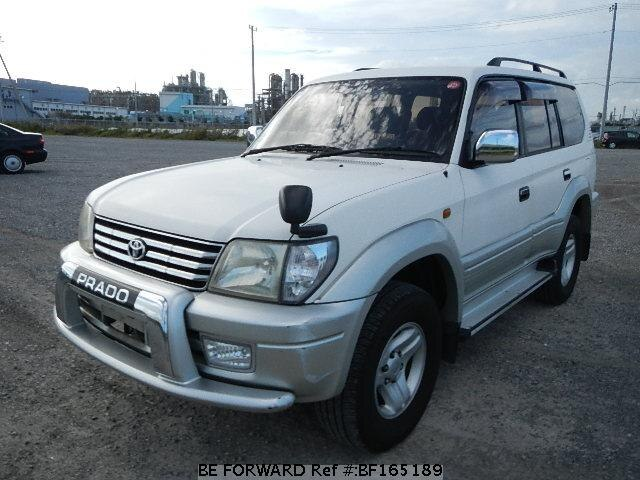 Used 2000 TOYOTA LAND CRUISER PRADO BF165189 for Sale