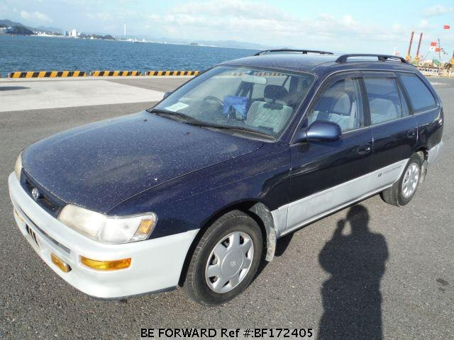 used 1995 toyota corolla wagon g touring kd ce100g for sale bf172405 be forward. Black Bedroom Furniture Sets. Home Design Ideas