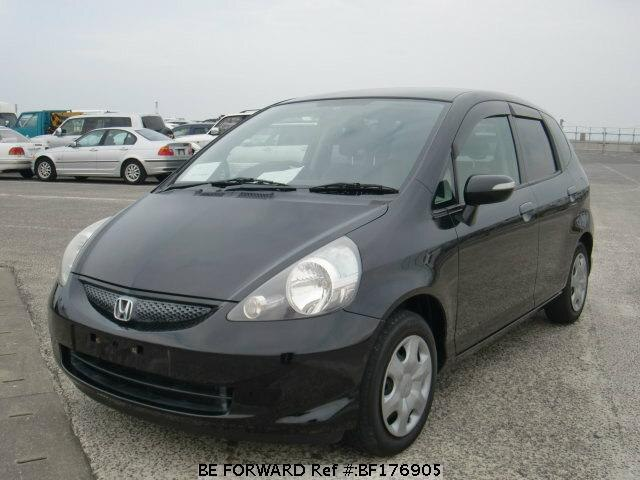 used 2005 honda fit dba gd1 for sale bf176905 be forward. Black Bedroom Furniture Sets. Home Design Ideas