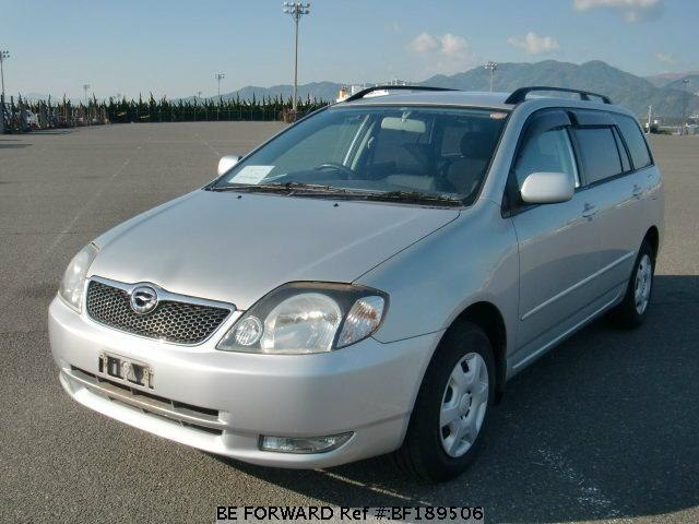 Used 2000 TOYOTA COROLLA FIELDER BF189506 for Sale