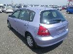 Used 2001 HONDA CIVIC BF66521 for Sale Image 3