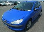 Used 2000 PEUGEOT 206 BF66761 for Sale Image 1