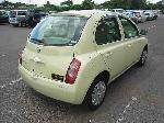 Used 2003 NISSAN MARCH BF68685 for Sale Image 5