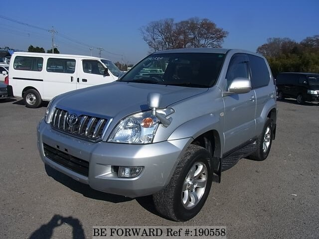 Used 2002 TOYOTA LAND CRUISER PRADO BF190558 for Sale