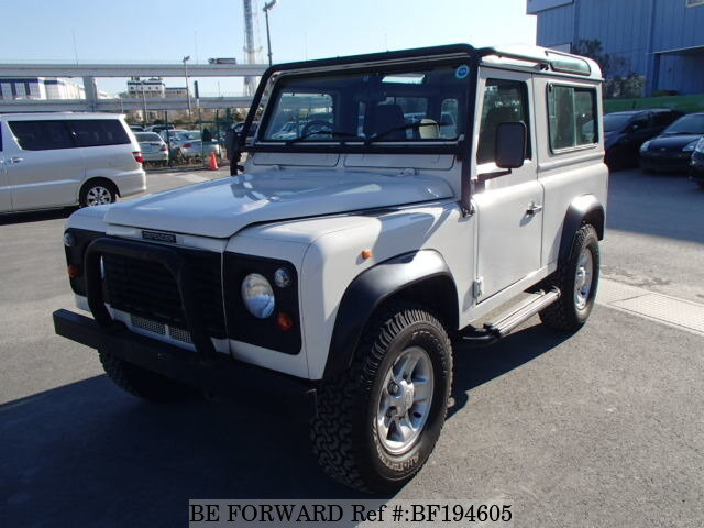 used 1998 land rover defender 90 sw 50th anniversary e ld31 for sale bf194605 be forward. Black Bedroom Furniture Sets. Home Design Ideas