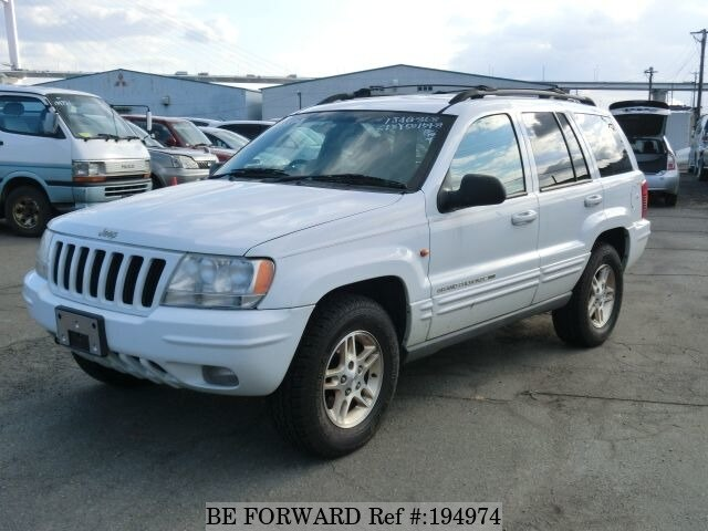 used 1999 jeep grand cherokee limited gf wj40 for sale bf194974 be forward. Black Bedroom Furniture Sets. Home Design Ideas