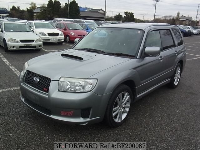 used 2006 subaru forester cross sports t ta sg5 for sale bf200087 be forward. Black Bedroom Furniture Sets. Home Design Ideas