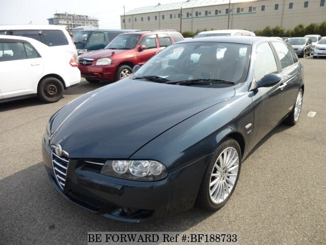 used 2004 alfa romeo 156 sportwagon v6 2 5 design giugiaro limited gh 932bw for sale bf188733. Black Bedroom Furniture Sets. Home Design Ideas