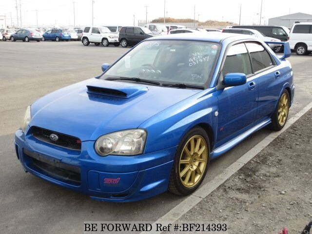 used 2004 subaru impreza wrx sti wrx sti gh gdb for sale bf214393 be forward. Black Bedroom Furniture Sets. Home Design Ideas