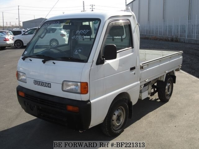Used 1996 SUZUKI CARRY TRUCK BF221313 for Sale