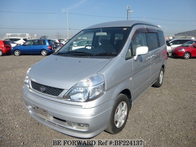 Used 2001 NISSAN SERENA BF224137 for Sale