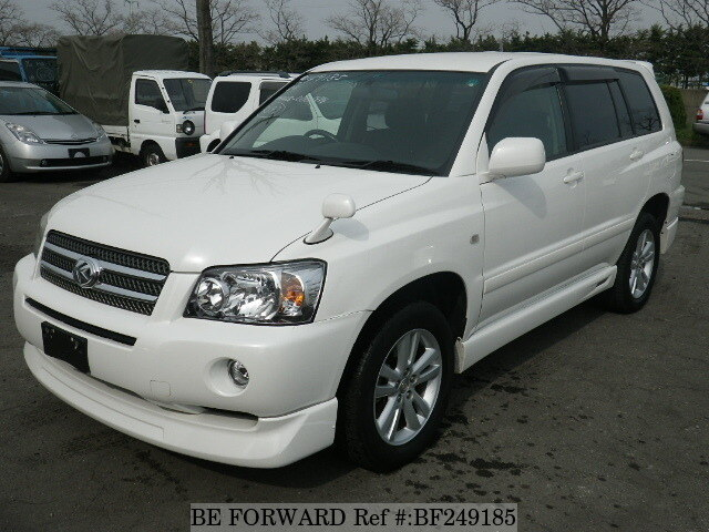 used 2005 toyota kluger hybrid g packagedaamhu28w for