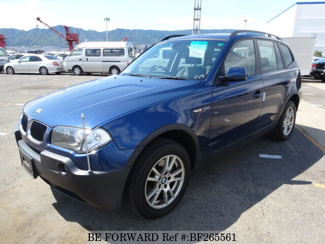2005 bmw x3 2 5i gh pa25 d 39 occasion en promotion bf265561. Black Bedroom Furniture Sets. Home Design Ideas