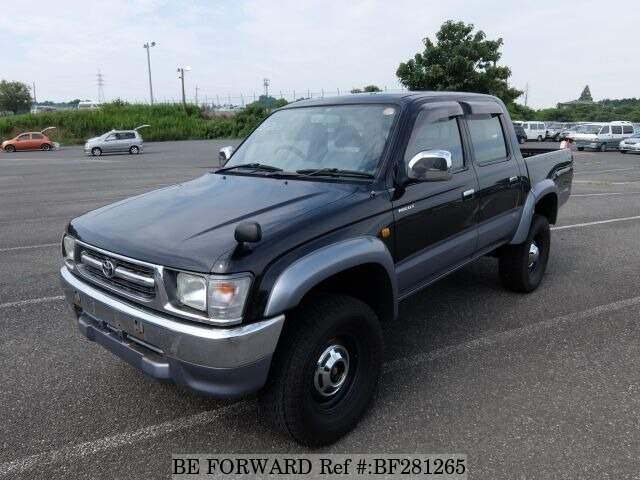 used 2000 toyota hilux sports pickup gc rzn169h for sale bf281265 be forward. Black Bedroom Furniture Sets. Home Design Ideas